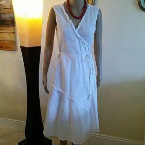 Dresses & Skirts - Italian linen dress, size M